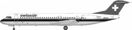Fokker 100 F-28-0100