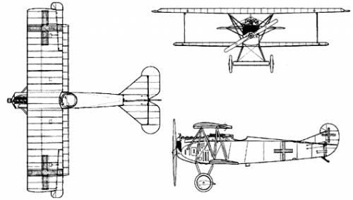 Fokker D-VII BIPLANE