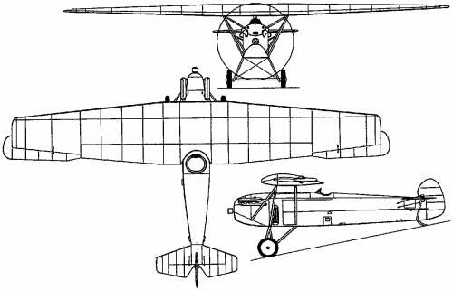Fokker D X (Holland) (1921)
