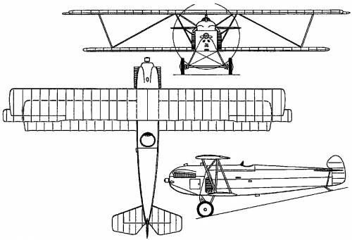 Fokker D XII (Holland) (1924)