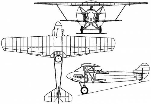 Fokker D XIII (Holland) (1924)