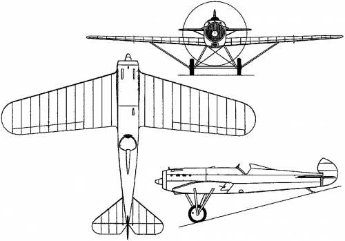 Fokker D XIV (Holland) (1925)