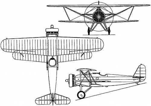 Fokker D XVI (Holland) (1929)