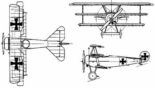 Fokker DR-1 TRIPLANE 2