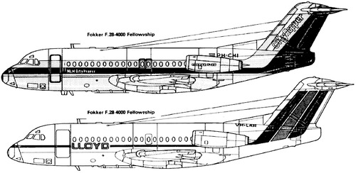 Fokker F28-4000 Fellowship