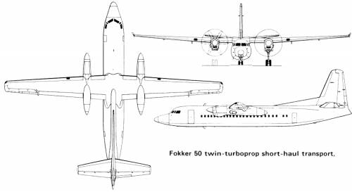 Fokker F50-100