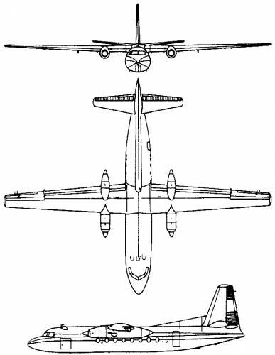 Fokker F.27 Friendship (Holland) (1955)
