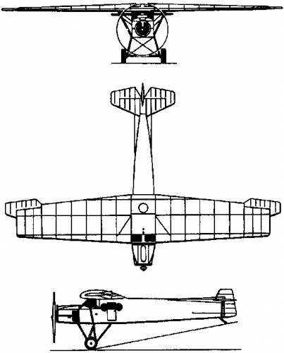Fokker F.2 (Holland) (1919)