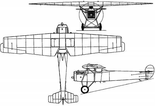 Fokker F.6 (PW-5) (Holland) (1921)