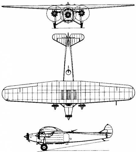 Fokker F.7 (Holland) (1924)