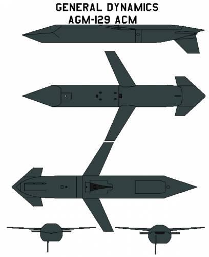 General Dynamics AGM-129 ACM