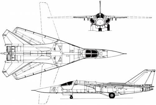 General Dynamics F-111 (USA) (1964)