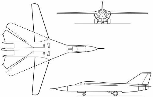 General Dynamics F-111A Aardvark (1964)
