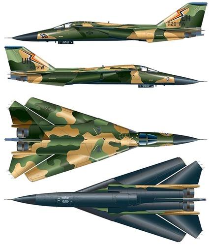 General Dynamics F-111A Aardwark