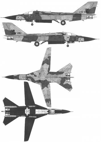 General Dynamics F-111D Aardvark