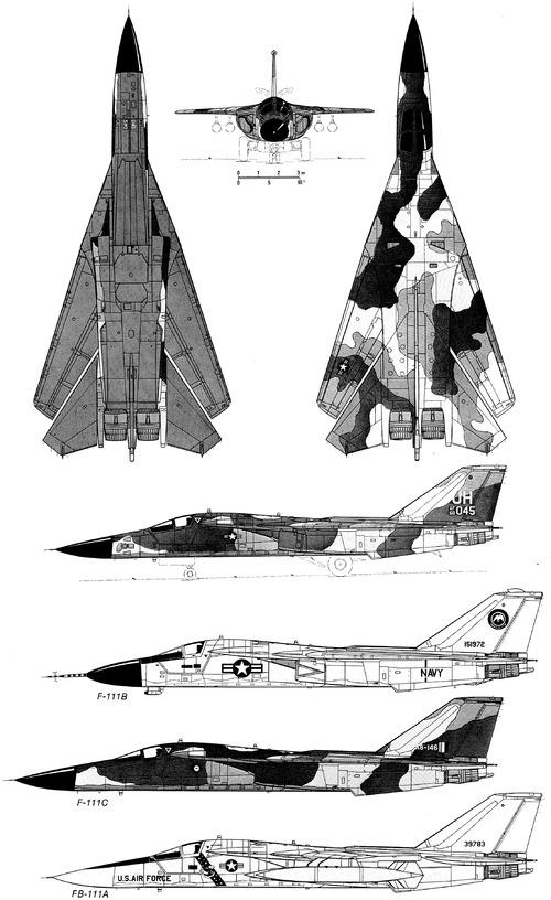 General Dynamics F-111E Aardwark