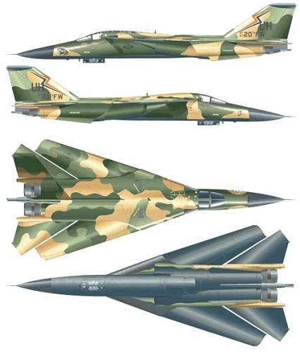 General Dynamics F-111F Aardwark