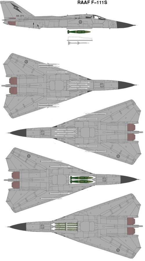 General Dynamics F-111S