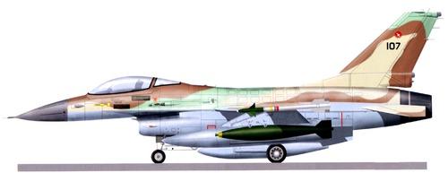 General Dynamics F-16A Fighting Falcon Netz