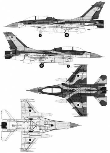 General Dynamics F-16B Fighting Falcon
