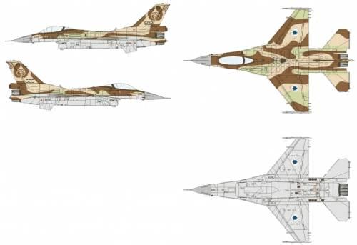 General Dynamics F-16C Block 40 Barak