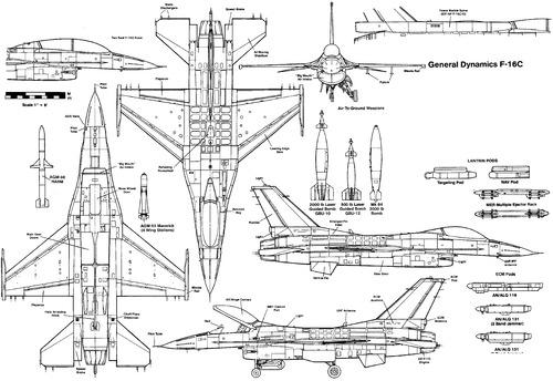 General Dynamics F-16C-D Fighting Falcon