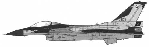 General Dynamics F-16C Falcon Block 40