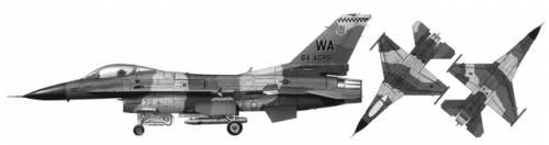 General Dynamics F-16C Fighting Falcon