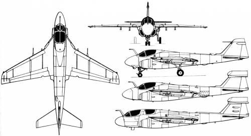 Grumman A-6 Intruder (USA) (1960)