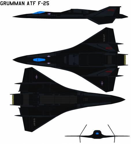 Grumman ATF F-25