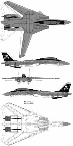Grumman F-14 Tomcat Squadron VF1