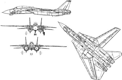 Grumman F-14A Plus Tomcat