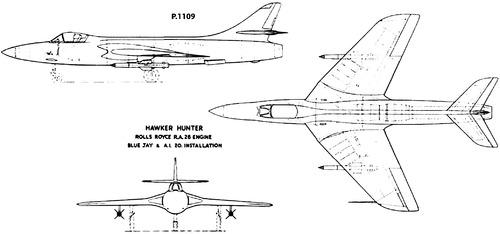 Hawker Hunrer P.1109