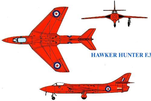 Hawker Hunter F.3
