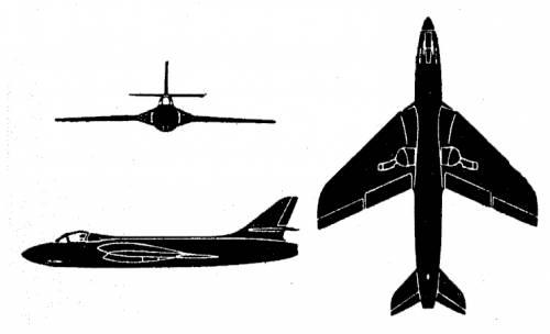 Hawker Hunter F Mk. 1