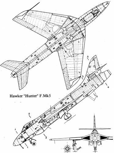 Hawker Hunter F.Mk.5