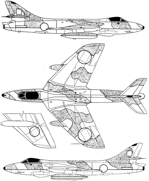 Hawker Hunter FGA Mk.9