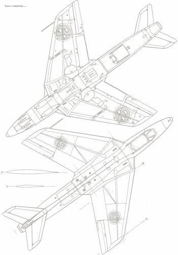 Hawker Hunter (J-34)