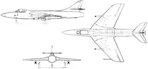 Hawker Hunter P.1109