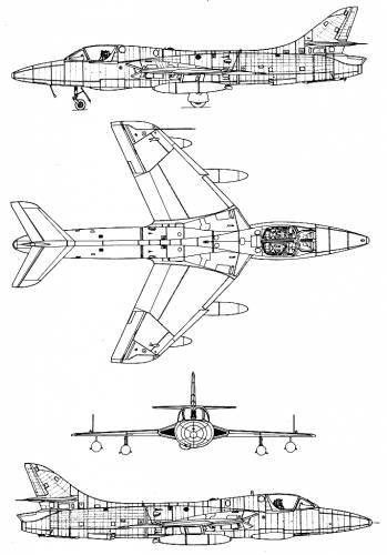 Hawker Hunter T-8