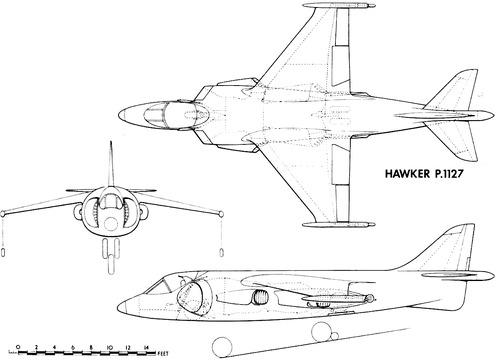 Hawker P.1127 Harrier