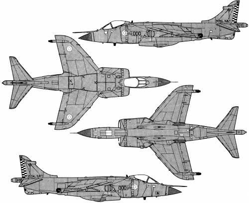 Hawker Sea Harrier FRS1