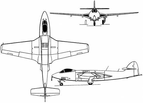 Hawker Sea Hawk (England) (1947)