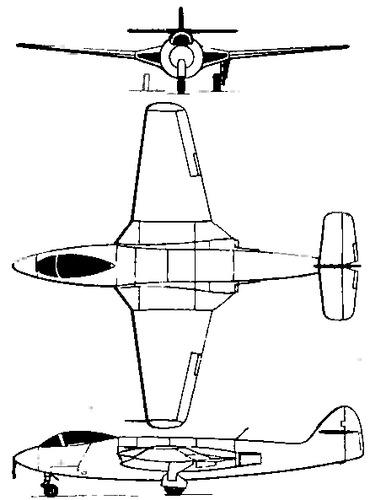 Hawker Sea Hawk P.1040 (VP401)