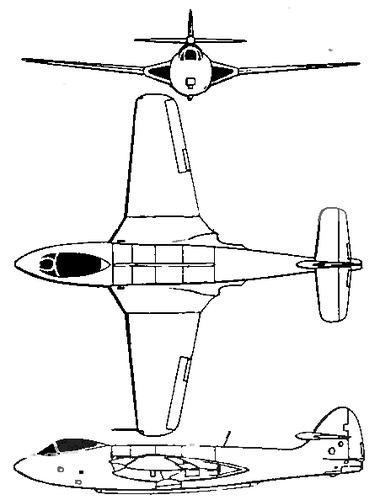 Hawker Sea Hawk P.1072