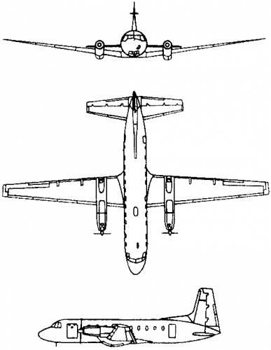 Hawker Siddeley (Avro) HS.748 Andover (England) (1960)