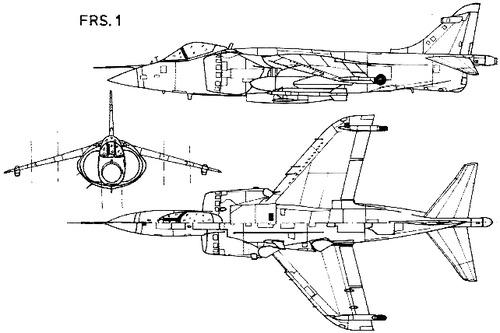 Hawker Siddeley Harrier FRS.1
