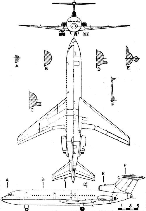 Hawker Siddeley HS 121 Trident (de Havilland DH.121)