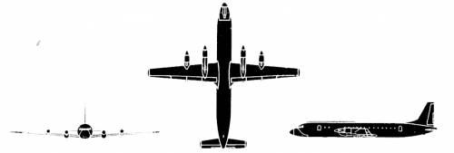 Ilyushin Il-18 Moskwa Coot
