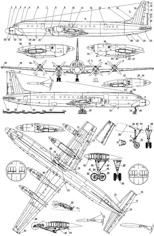 Ilyushin Il-18V Coot